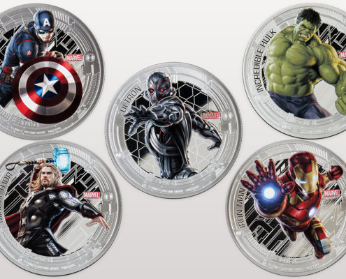 All Five Silver Coins