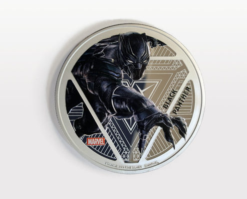 Black Panther 1 Ounce Silver Coin