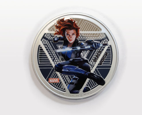 Black Widow 1 Ounce Silver Coin