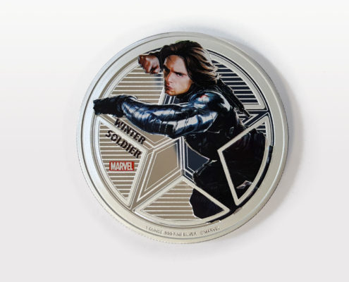 Winter Soldier 1 Ounce Silver Coin