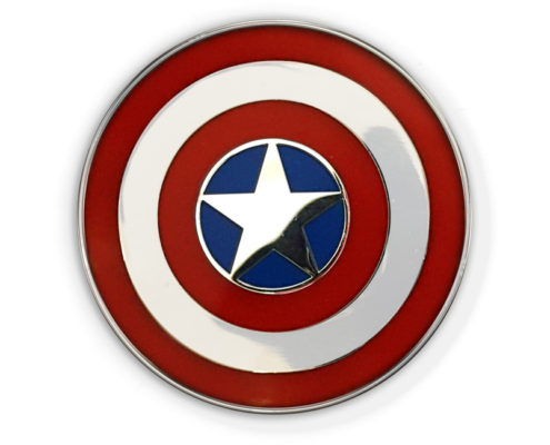 Captain America 75th Anniversary Cloisonné Lapel Pin