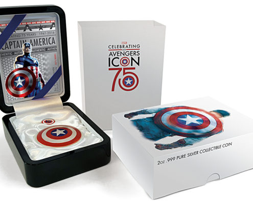 Captain America 75th Anniversary Package